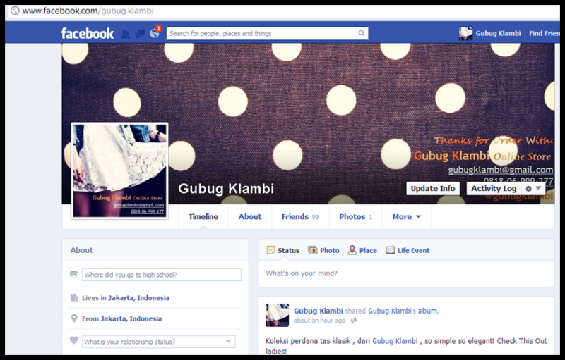 Add Our Facebook :