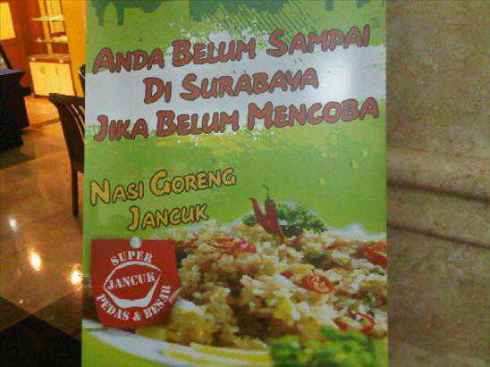 Anda Belum Sampai Surabaya Jika Belum Mencoba