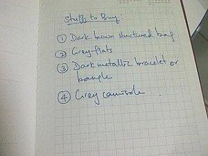 membuat daftar belanja perlu untuk menghindari membeli hal-hal yang nggak perlu