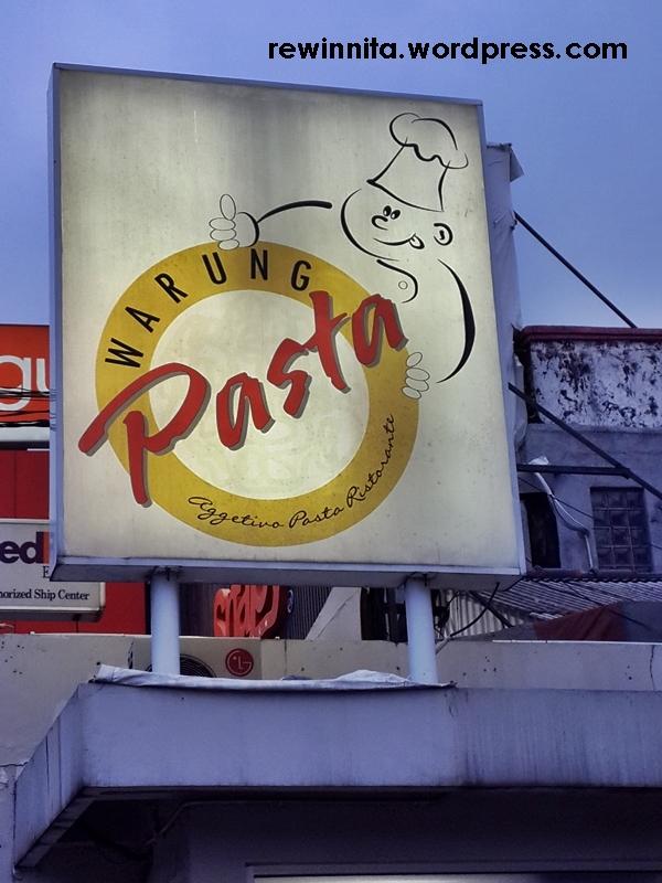 Warung Pasta : Surga Para PecintaPasta